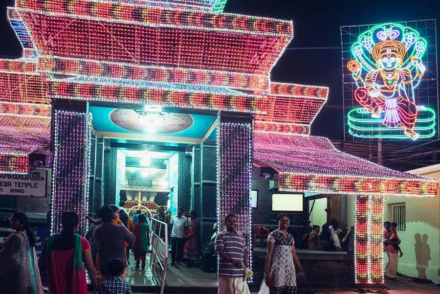 Sree Poornathrayeesha Temple