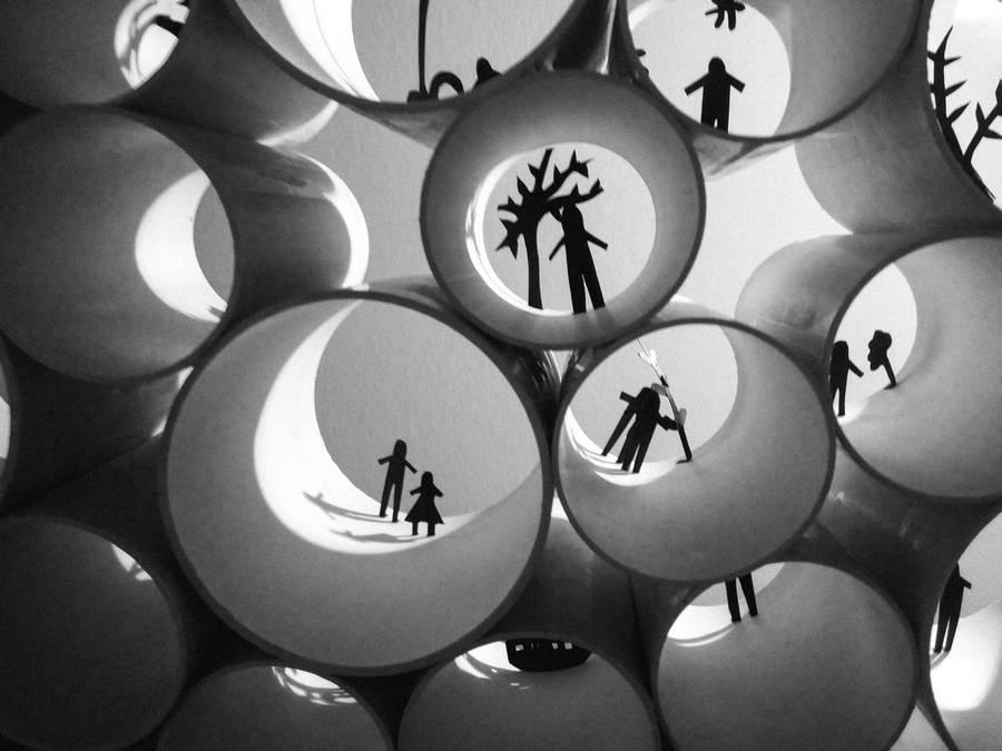 Галерея сучасного мистецтва в баштах.