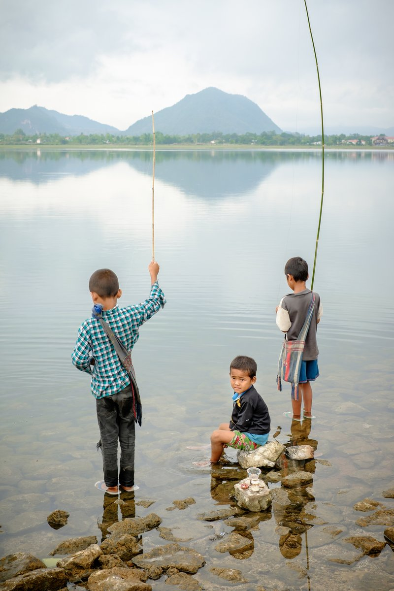 діти в М'янмі
