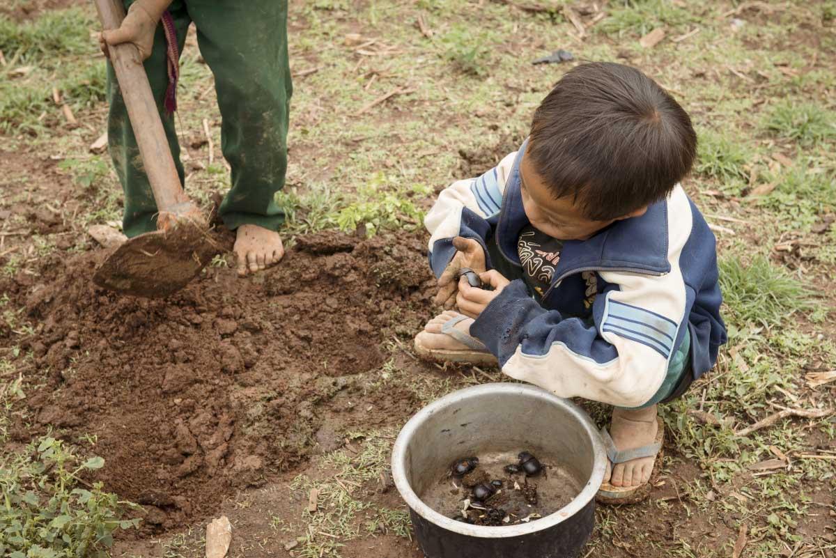 дитина в М'янмі