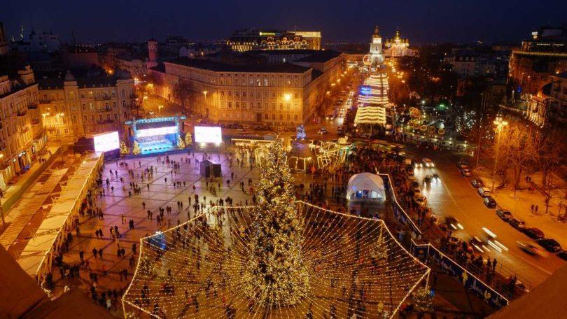 Софійська площа у Києві, 2017 рік